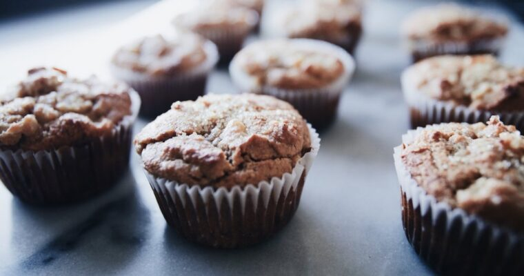 Paleo Ginger Pear Muffins