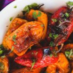 Oven Roasted Mini Sweet Peppers